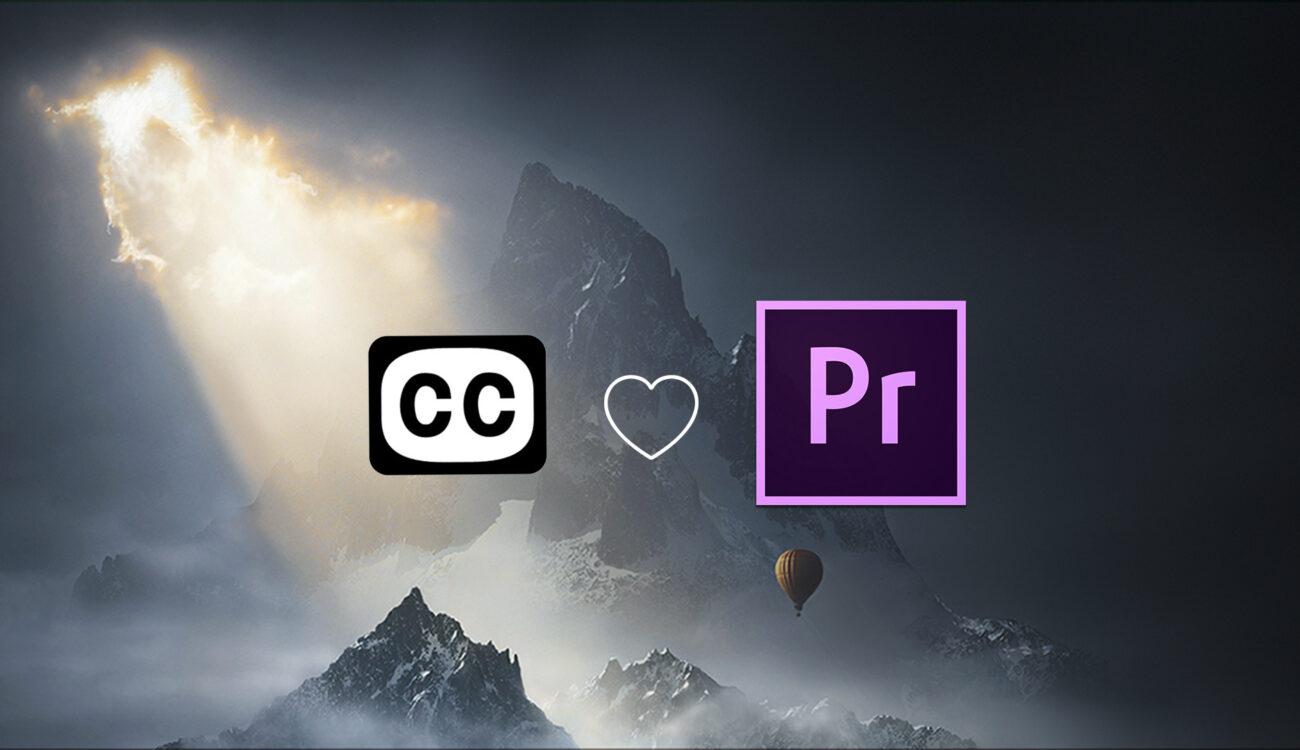 Quickly Create Closed Captions in Adobe Premiere Pro CC