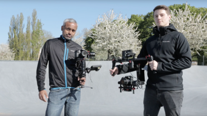 Battle of the Gimbals - DJI Ronin-M vs CAME-TV CAME-Single