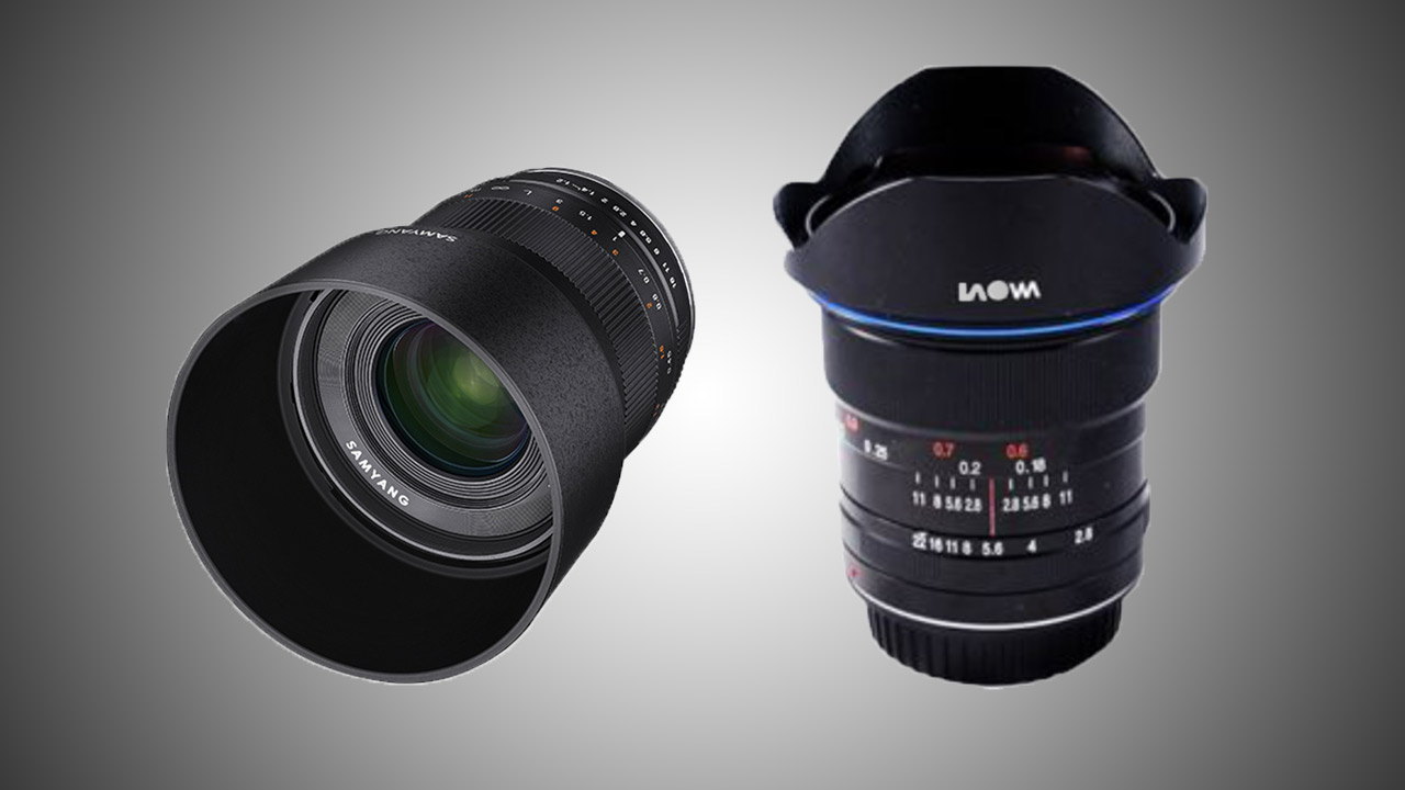 2 New Prime Lenses: Samyang 35mm f1.2 & Laowa 12mm f2.8