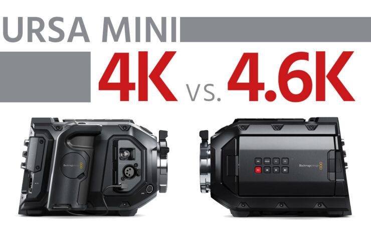 Blackmagic URSA Mini 4K vs 4.6K - How Good is the 4.6K?
