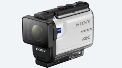 New Sony FDR-X3000R - 4K Action Cam with Optical Stabilizer