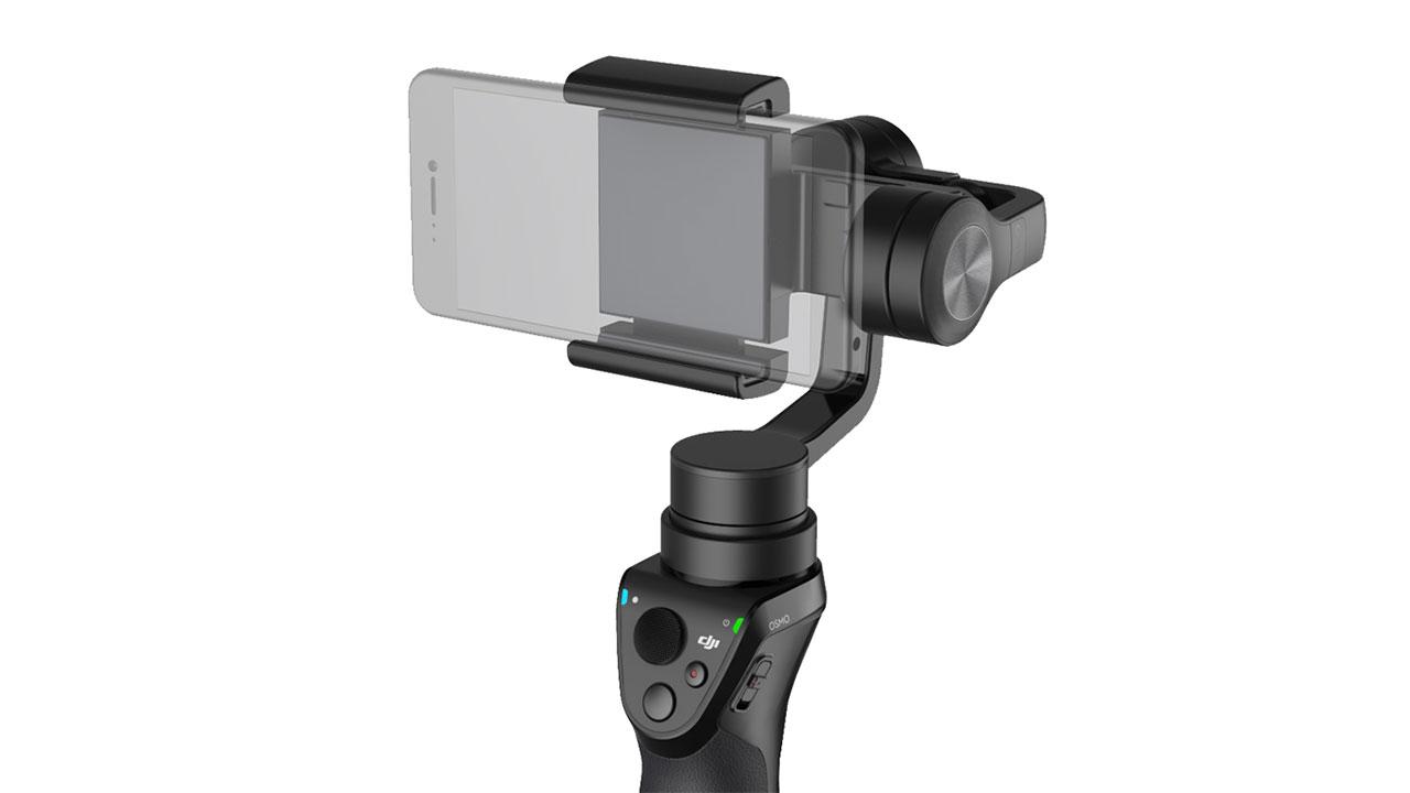 DJIがOSMO Mobileを発表-スマートフォン用ジンバル