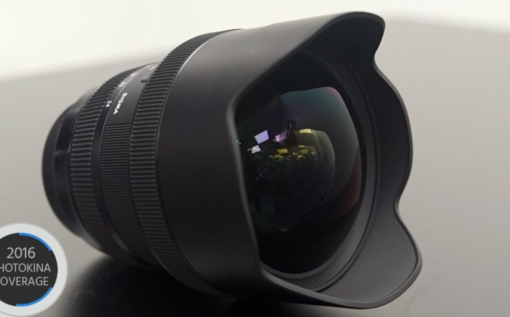 The New Sigma 12-24mm f/4 ART Full Frame Lens - No Distortion?