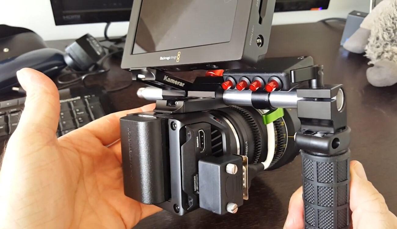 One Little Remote For The Blackmagic Design Micro Cinema Camera Cined