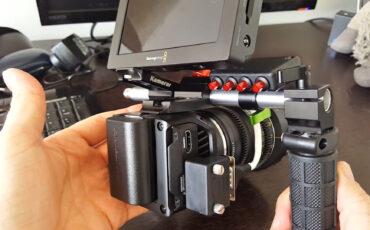One Little Remote for the Blackmagic Design Micro Cinema Camera