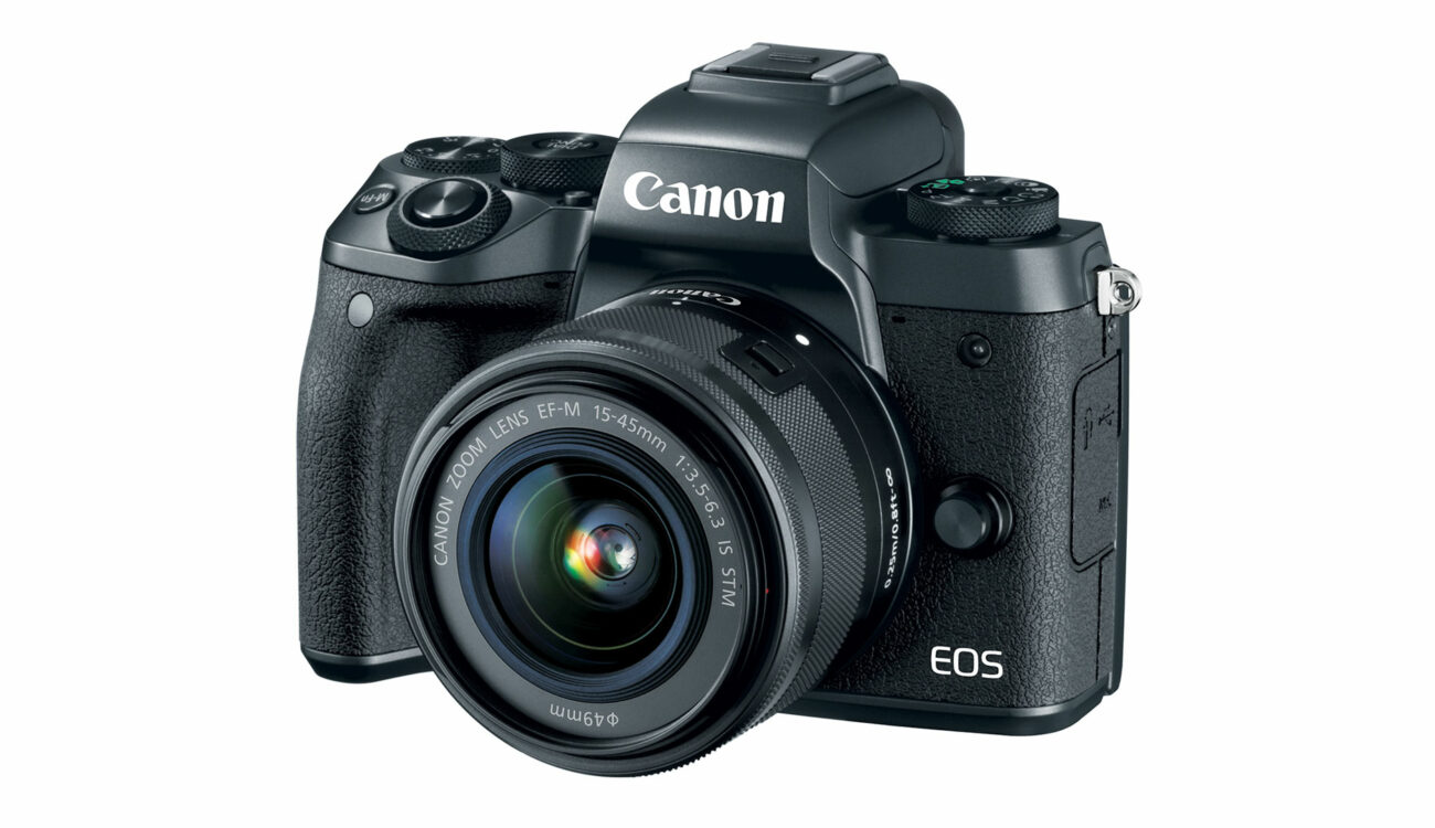 New Canon EOS M5 Mirrorless Camera Announced With HD 60p Video