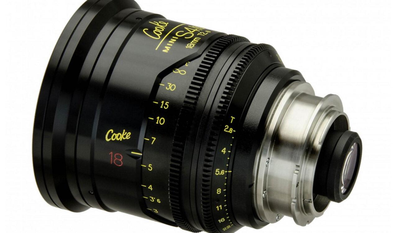 New Mounts for Cooke MiniS4i Cinema Prime Lenses Released