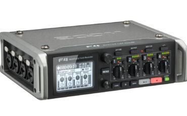 New Zoom F4 MultiTrack Field Recorder Announced