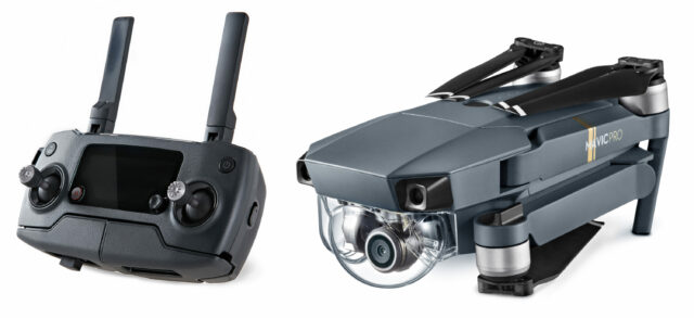 DJI Mavic Pro and Controller