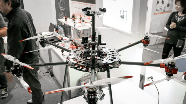 Varavon 3-Axis VR Drone on Display at Photokina 2016