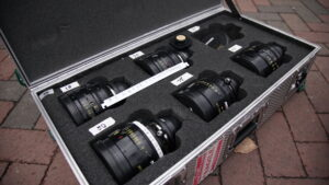 Cooke S4/i Cinema Primes on the set of The Good Catholic Picture: Graham Sheldon