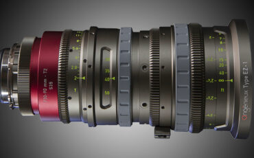 Angenieux EZ Series Zooms - User Customisable in Every Way