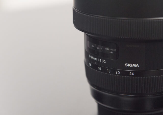 Sigma 12-12mm f/4 art