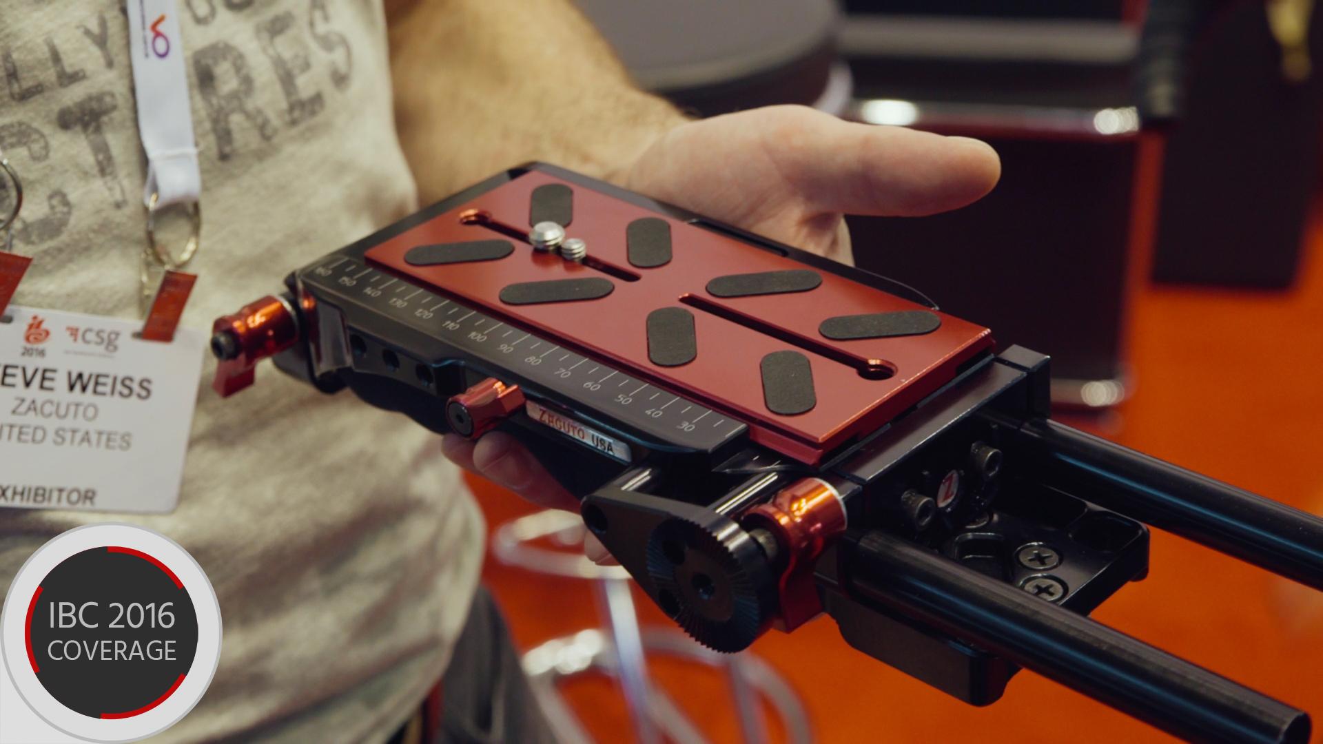 Zacutoが新しいVCT Proプレートを発表 - スライドパネルとロッド装着可能