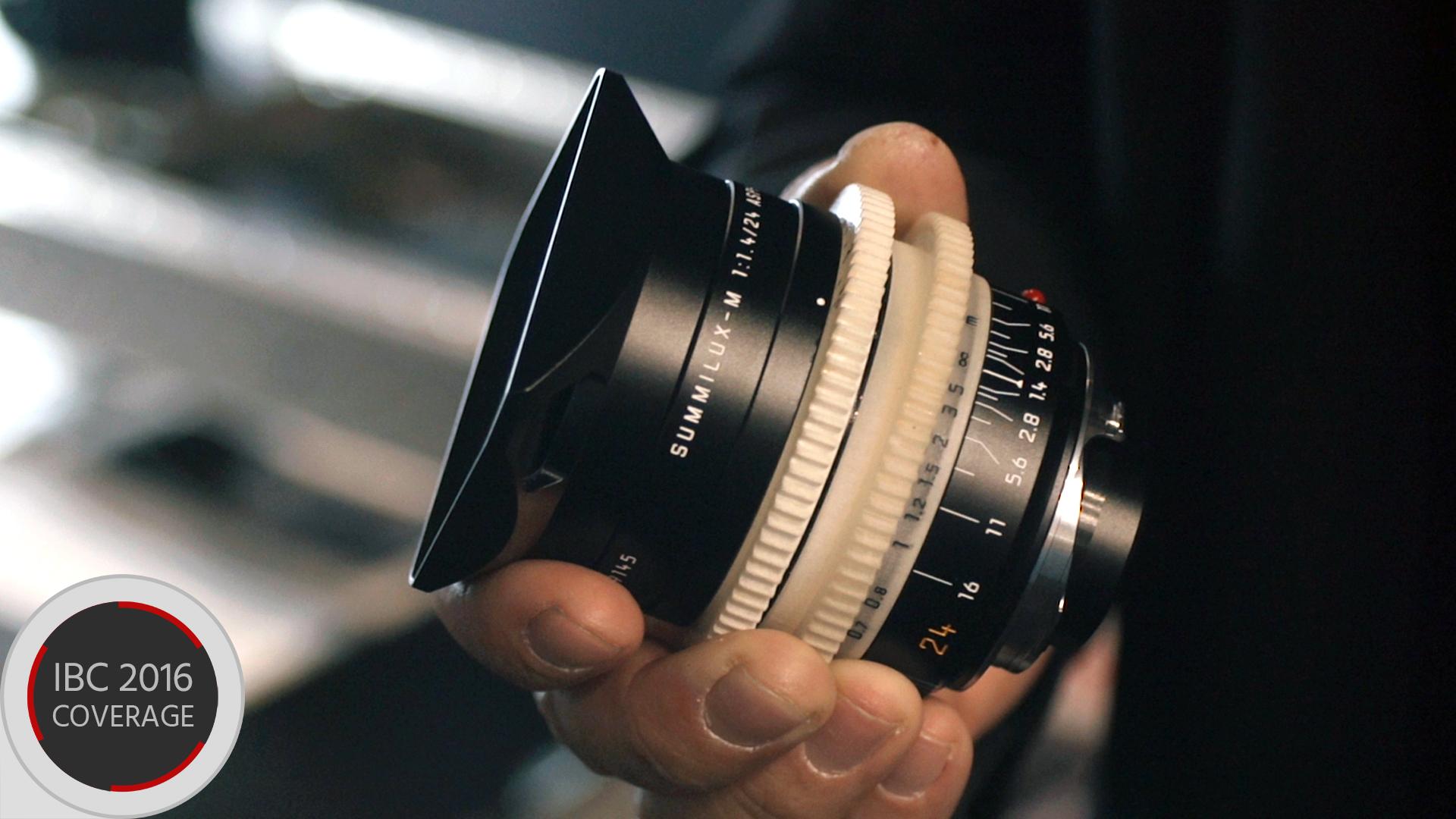 ライカM0.8シリーズシネレンズを発表 - 最高級レンズがシネレンズで登場