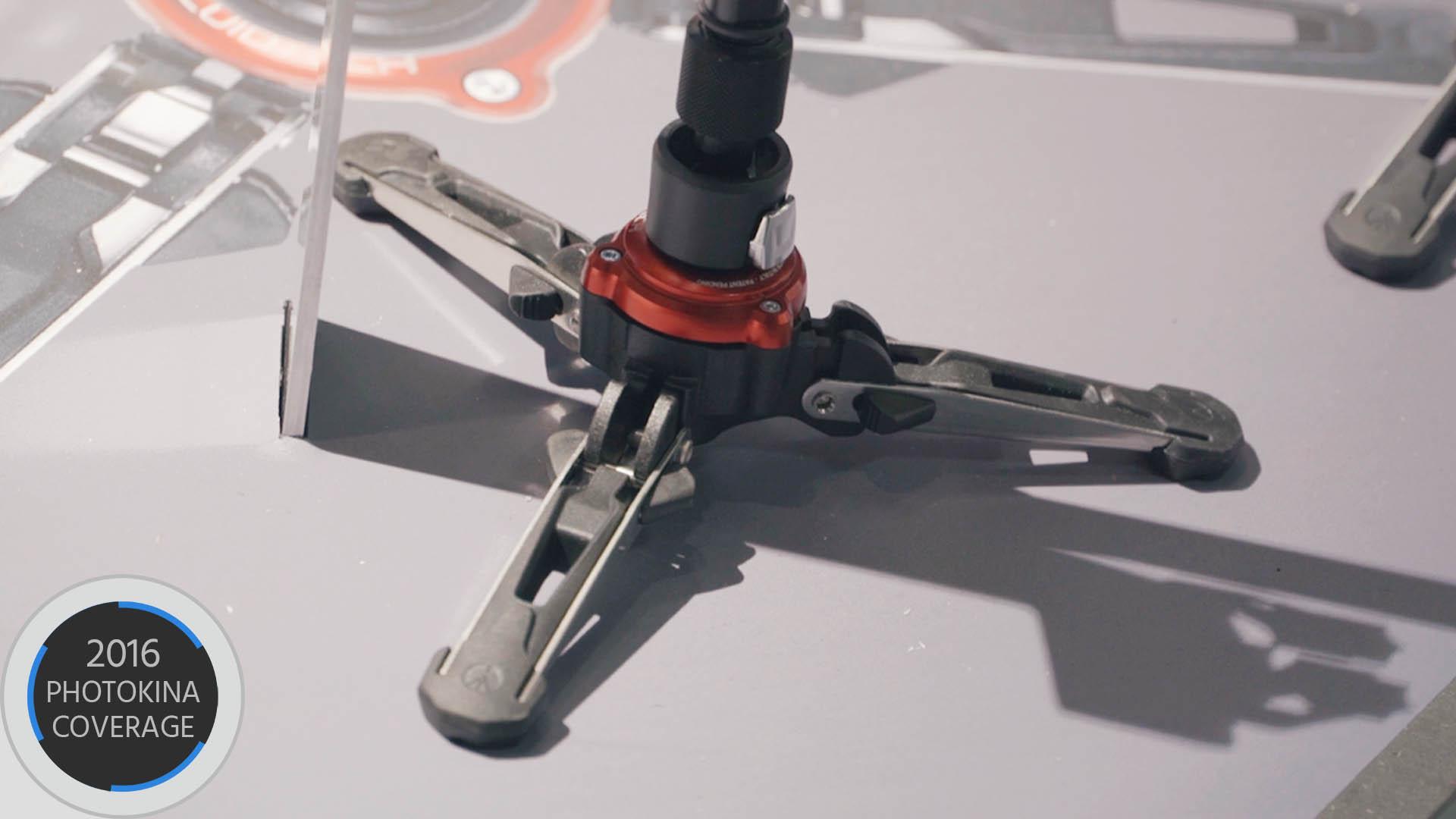マンフロットがXPRO Monopod+を発表 — ビデオにも使え自立できるモノポッド