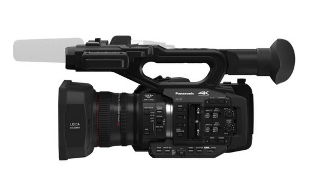 パナソニックがHC-X1を発表-4K DCI規格の 1インチセンサービデオカメラ