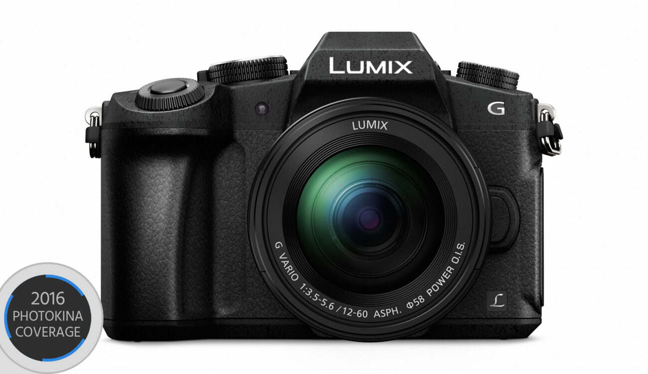 Panasonic Lumix G80 Announced - Affordable 4K Mirrorless with 5-axis stabilizer