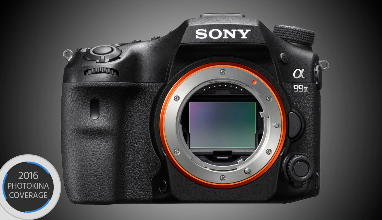 Sony a99 II - New Flagship DSLR with Internal 4K Video and 42MP Sensor
