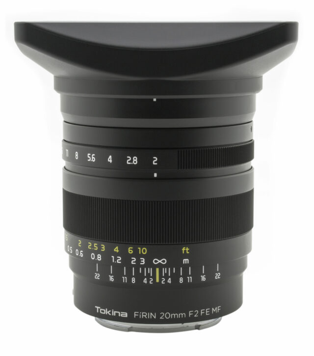 Tokina FíRIN 20mm f/2 FE MF for E-mount