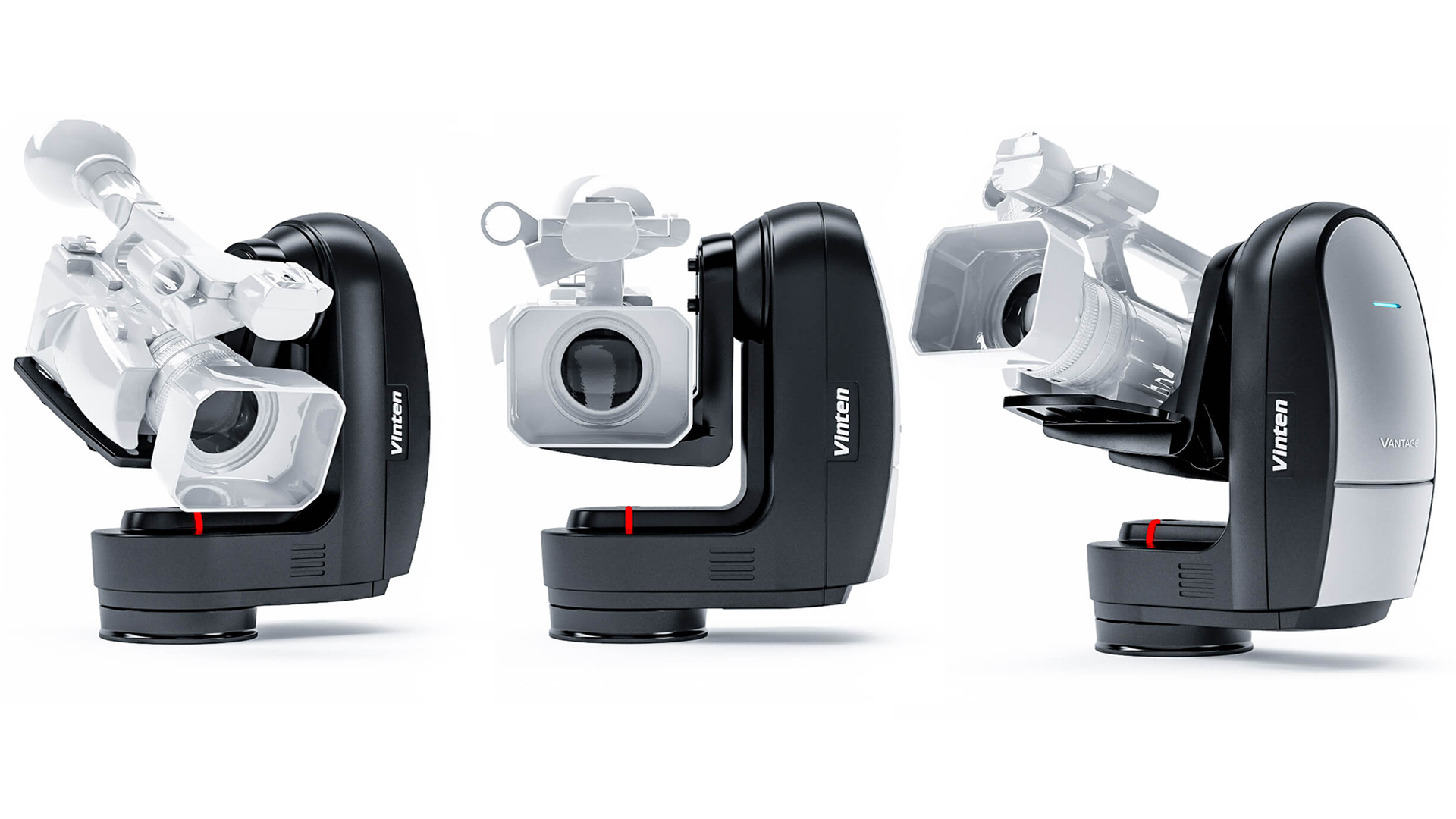 ヴィンテンがVantageを発表-ハンディーカメラ用ロボティックリモートヘッド