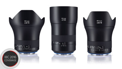 Zeiss Milvus Line up Expanded - 15mm f/2.8, 18mm f/2.8 and 135mm f/2.0