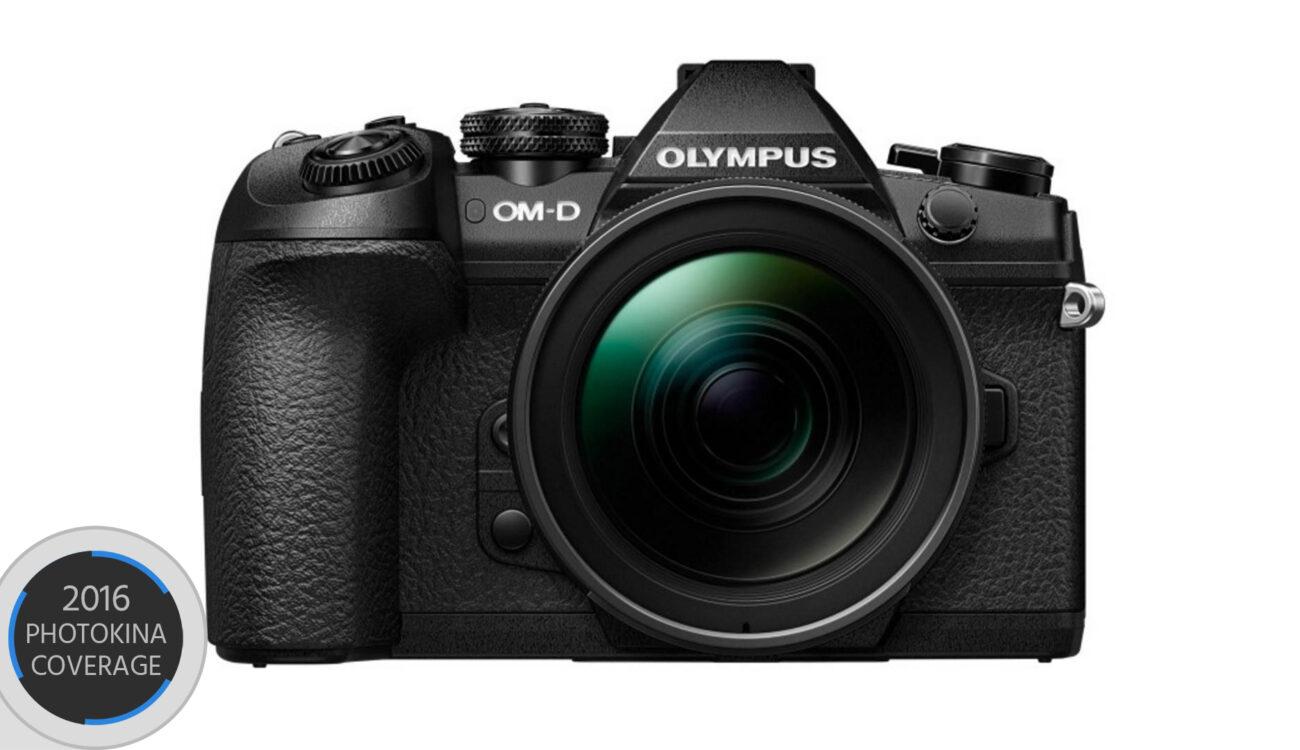 Olympus Announces OM-D E-M1 MK II - 4K 30p 20MP Sensor