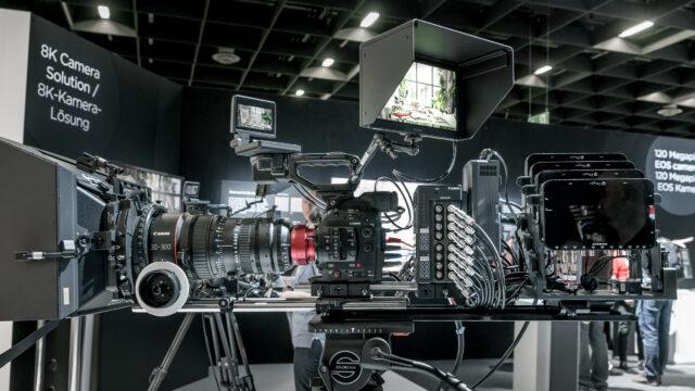 Canon 8K Camera Protoype