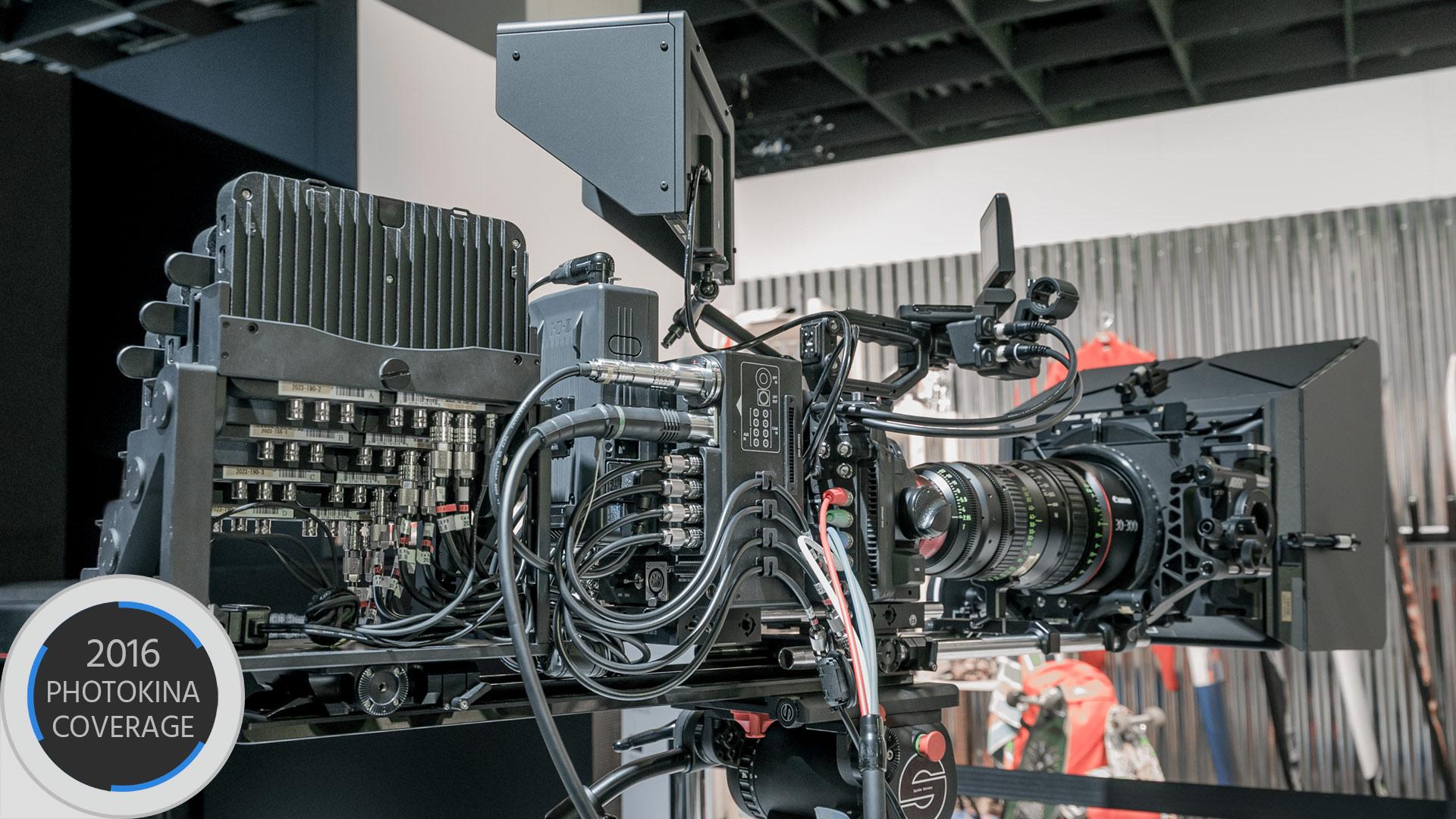 キヤノン8Kカメラ - フォトキナでプロトタイプを展示