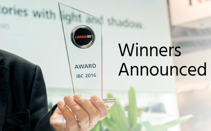 cinema5D IBC 2016 Award Winners Announced!