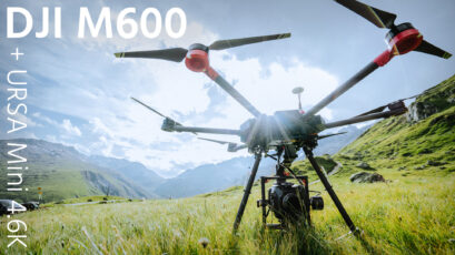 DJI M600 Review - Flying the URSA Mini 4.6K vs. DJI Inspire 1 RAW