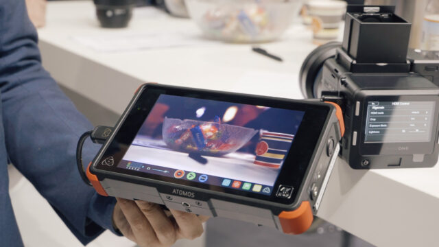 Atomos Shogun Flame & Phase One XF with IQ3
