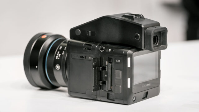 Phase One XF Camera with IQ3 back