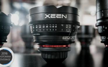 Xeen 16mm T2.6 - Samyang Further Expands Cine Lens Lineup