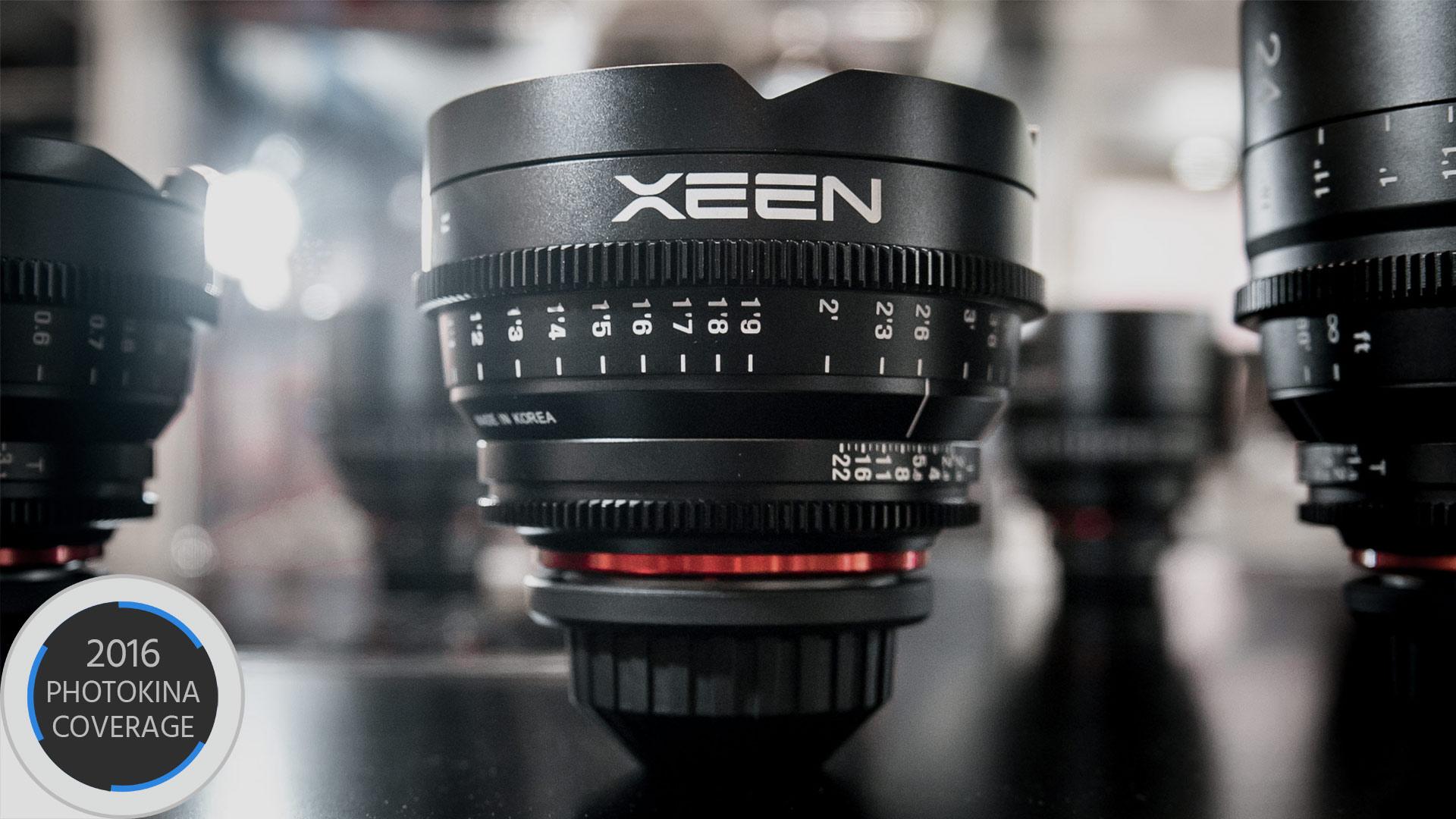サムヤン(Samyang)がXeen 16mm T2.6を発表 - 各種マウントに対応