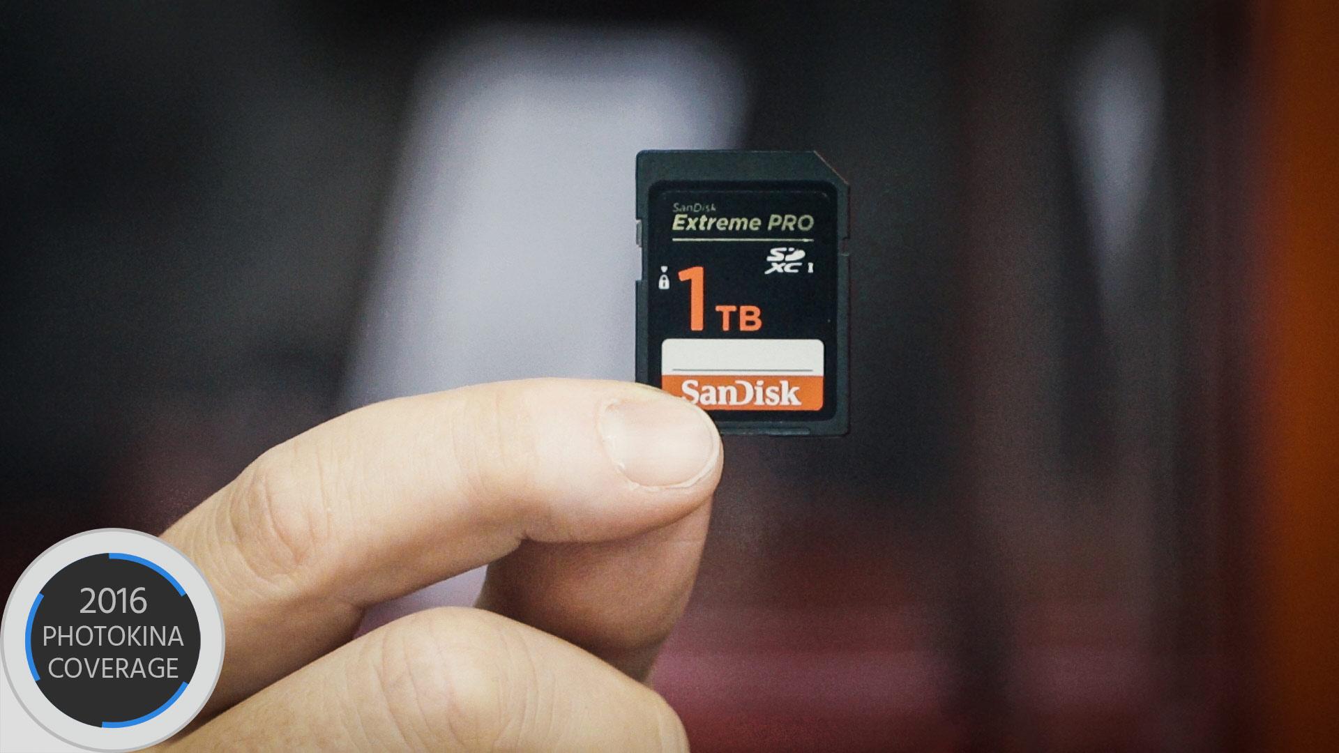 サンディスクが世界初1TB SDカードを発表 - 来年発売か
