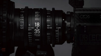 Sigma High Speed Cinema Lenses Announced - New Zooms and Primes