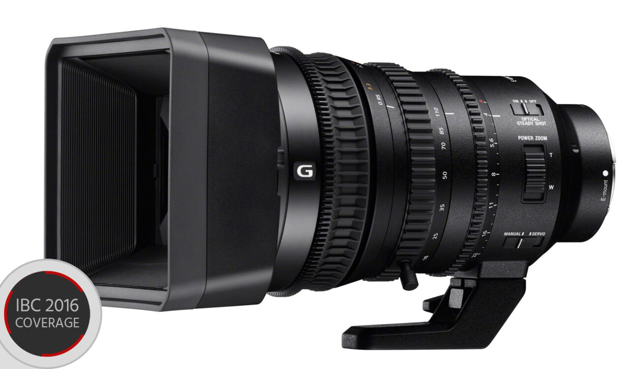 New Sony 18-110mm f/4 Lens Announced