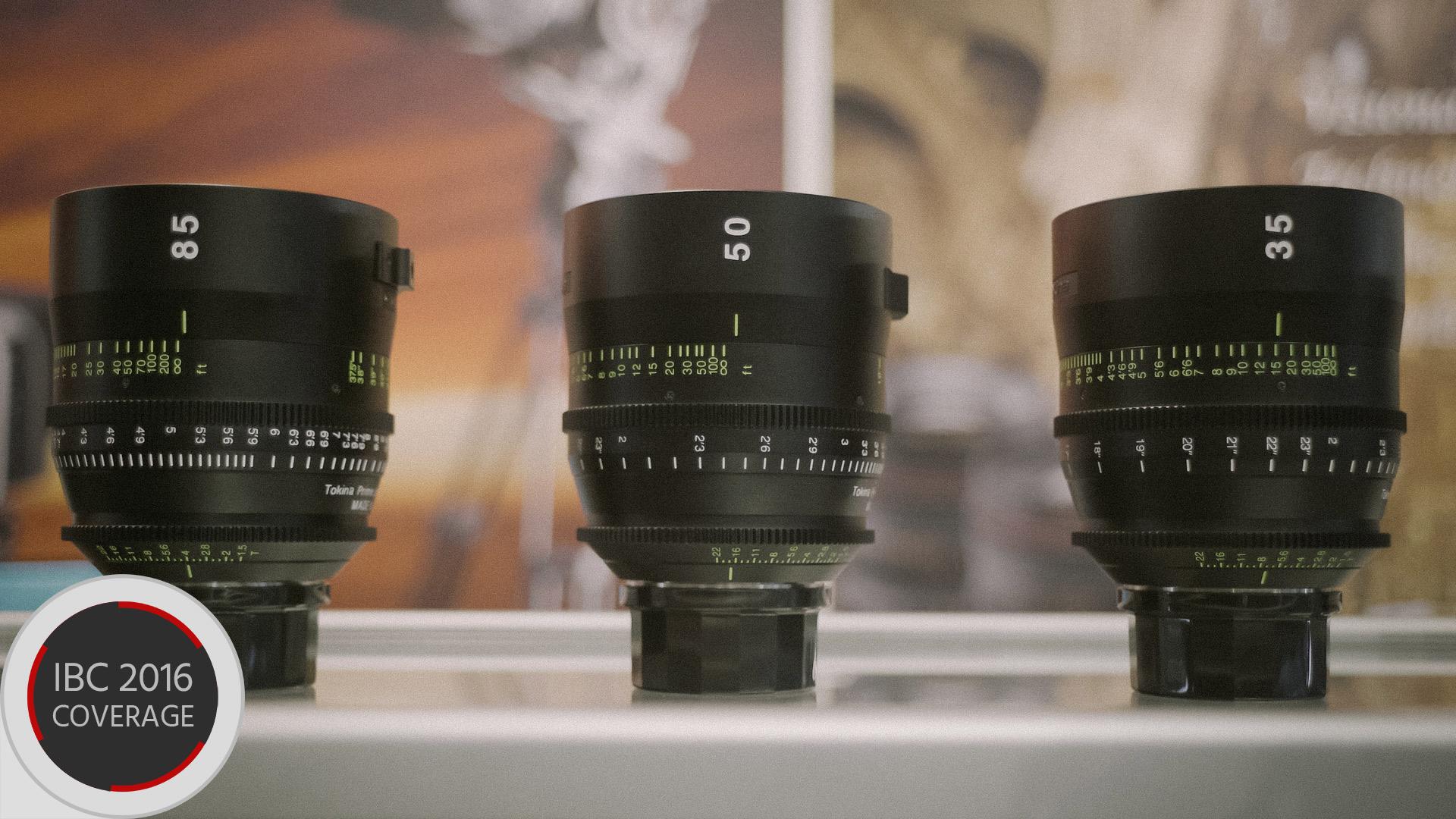 トキナがシネマレンズ発表-3種のプライム 35mm、50mm、85mm/T1.5