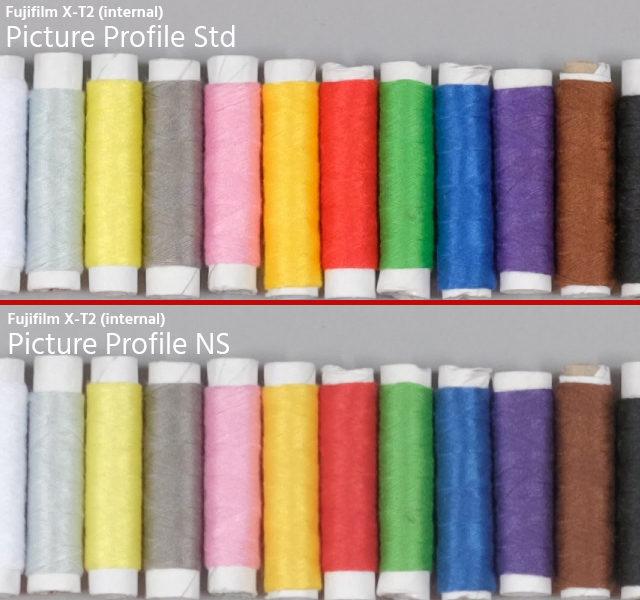 Fujifilm X-T2 colors
