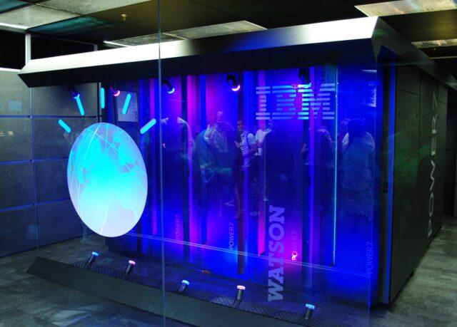 IBM's super computer Watson © Wikimedia commons