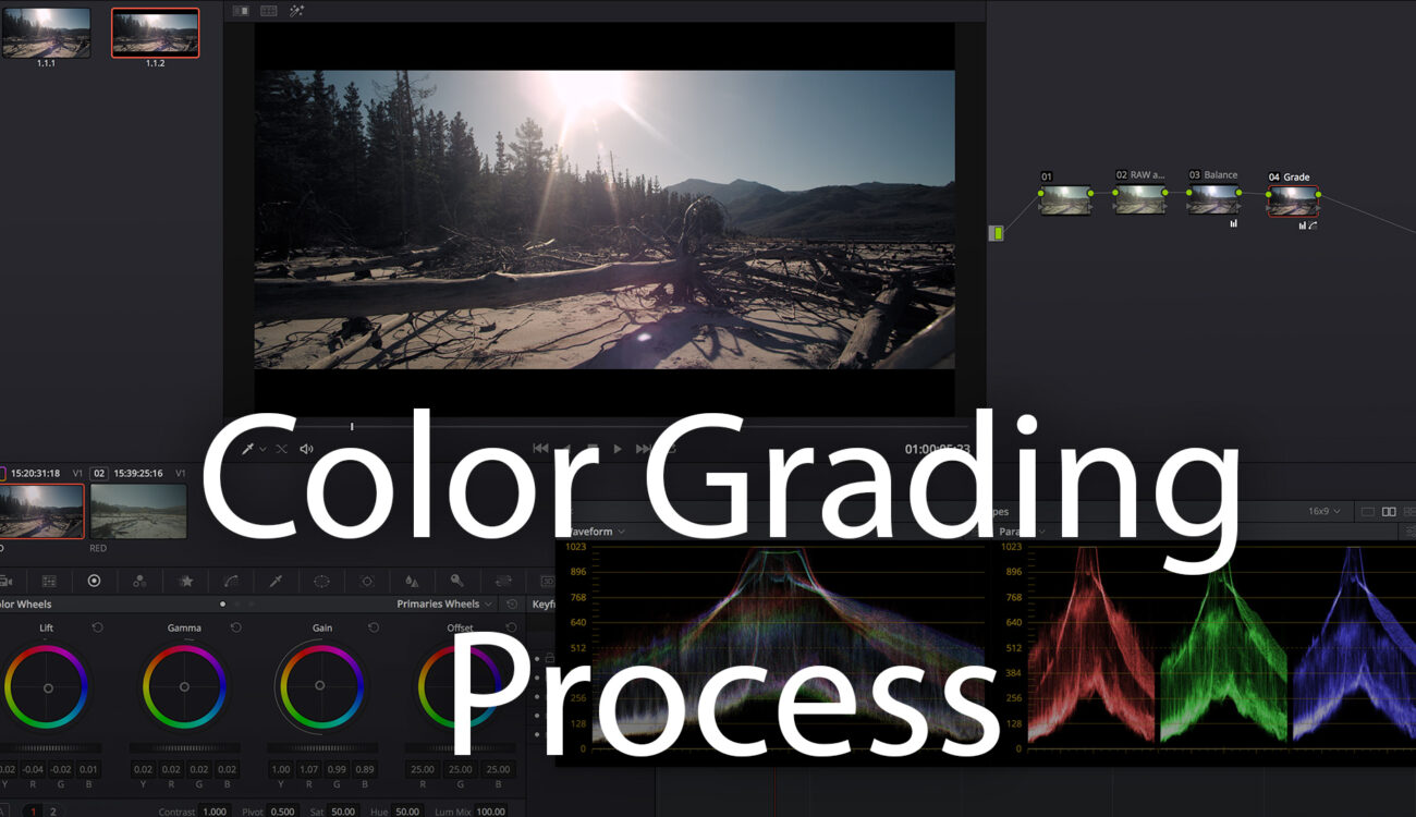 Color Grading Process - Get Started in DaVinci Resolve Part 2