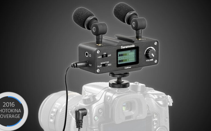 Saramonic CaMixer Adds a Headphone Jack to Your Sony a6300 / a6500