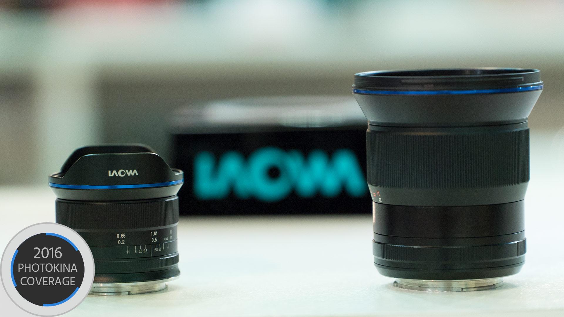 Laowaが15mm F2 Eマウントと7.5mm F2 MFTマウントを発表 — 明るく小型軽量のレンズ