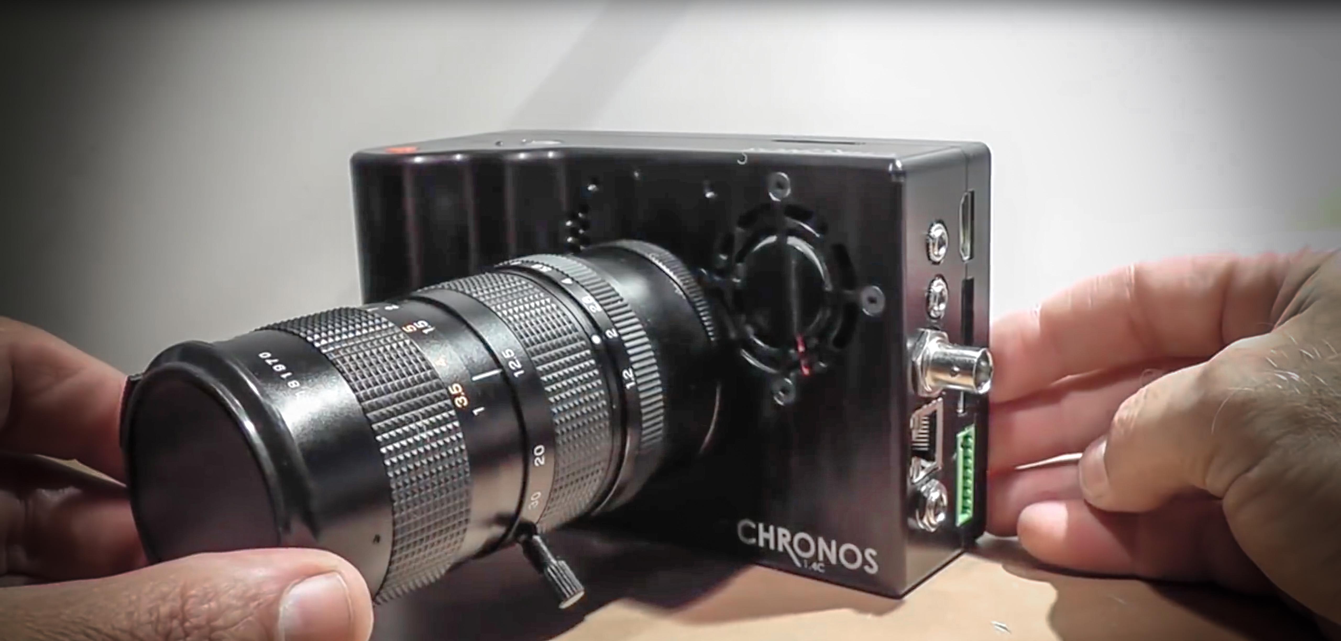 Chronos1.4 — 1050fpsの高速撮影で安価にスローモーションを実現