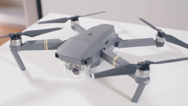 DJI Mavic Pro Review - top