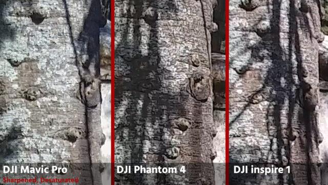 DJI Mavic Pro Review - Camera Quality Comparison: Mavic, DJI Phantom 4, DJI Inspire 1