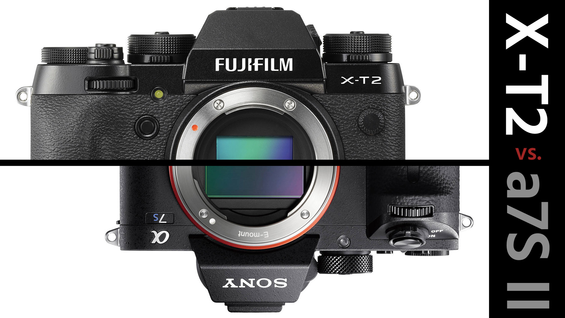 Fujifilm X-T2 vs  Sony a7S II - Which One is the Best