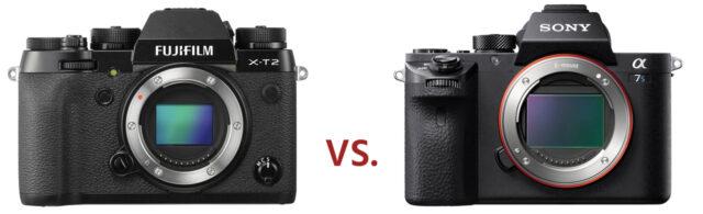Fujifilm X-T2 vs a7S II