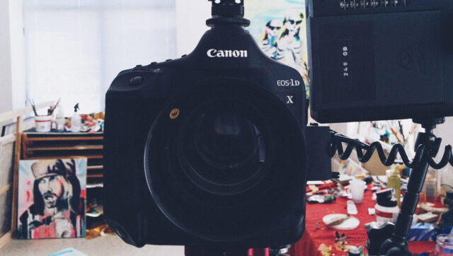 Canon 1D X Mark II with Richard Gale Optics